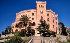 News about the pink castle above Palermo / Novità sul castello rosa che svetta su Palermo - http://urlin.it/4ff63
