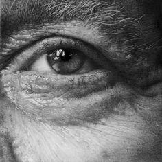 Eye study in pencil by artist armin mersmann Eye Pencil Drawing, Realistic Eye Drawing, Realistic Pencil Drawings, Pencil Painting, Human Eye Drawing, Ship Drawing, Graphite Art, Graphite Drawings, Art Drawings
