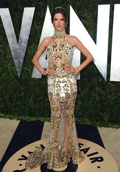 Alessandra Ambrosio-2013 Vanity Fair Oscars Viewing and After Party