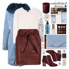 """""""Make a Statement: Embellished Sleeves"""" by palmtreesandpompoms ❤ liked on Polyvore featuring Mr & Mrs Italy, Dorothee Schumacher, Reiss, River Island, Dune, NARS Cosmetics, MAC Cosmetics, La Compagnie de Provence, ncLA and Essence"""