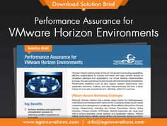 Download Solution Brief: Performance Assurance for VMware Horizon Environments