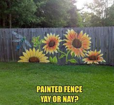 Garden Fence Art, Garden Mural, Painted Shed, Painted Fences, Painted Boards, Rustic Gardens, Outdoor Gardens, Outdoor Sheds, Painting On Wood
