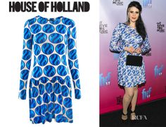 Kate Nash's House of Holland Marble Frill Dress