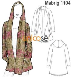 Sewing hack tip Sewing Coat, Sewing Clothes, Diy Clothes, Bolero Pattern, Jacket Pattern, Tunic Sewing Patterns, Clothing Patterns, Sewing Hacks, Sewing Tutorials