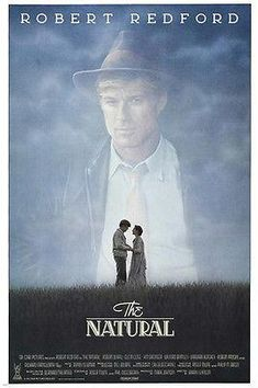 Watch the The Natural movie trailer. Directed by Barry Levinson and starring Robert Redford, Robert Duvall, Glenn Close and Kim Basinger. An overage baseball player comes out of seemingly nowhere to become a legendary player with almost divine talent. Cinema Tv, Films Cinema, Cinema Posters, Movie Posters, Hollywood Cinema, Old Movies, Vintage Movies, Great Movies, Awesome Movies