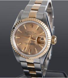 Reloj Rolex Oyster Perpetual Datejust Acero y Oro Señora 69173