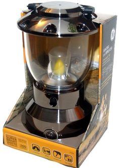 nice General Electric Super Bright White Latern, LED Technology 300 Lumens