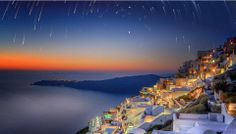 Stars in your eyes at Astra Suites Santorini..!  Photo by Panagiotopoulos