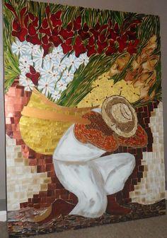 O Jardineiro / The Gardener, by Schandra  Trabalhos em Mosaico, via Flickr