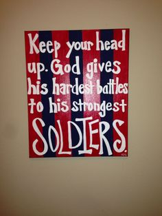 Canvas with Quote  by SwirlyQCanvas on Etsy, $50.00
