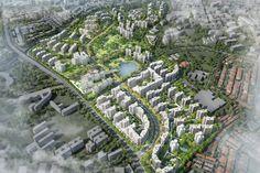 Master Plan for Public Housing at Bidadari Estate   Singapore Architectural Design