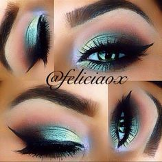 Soring colors and ideas for eye makeup