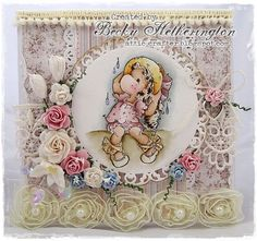 Make It Girlie With The Ribbon Girl Magnolia Challenge - Cards By Becky