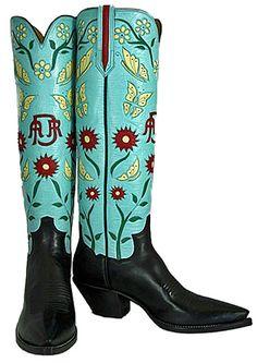 Custom boots by Paul Bond