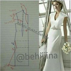 Couture Sewing Vestido Formal Clothing Patterns Dress Patterns Sewing Patterns Techniques Couture Sewing Techniques Make Your Own Dress Panel Dress Sewing Dress, Dress Sewing Patterns, Blouse Patterns, Sewing Clothes, Clothing Patterns, Diy Clothes, Wedding Dress Patterns, Fashion Sewing, Diy Fashion