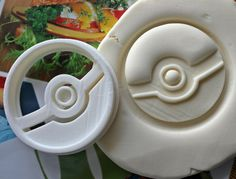 Cortador de la galleta 1 Pokemon Pokeball / de por Smiltroy en Etsy