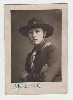 Romania Romanian Scouting Boy Scout in Uniform 1920s/30s Vintage Real Photo. eBay 381298915134.