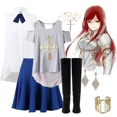 I am a huge fan of Fairytail, and if I were to wear this to school I would feel like I could do anything.