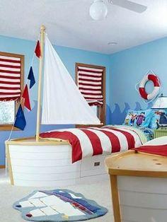 beach house themed kids room