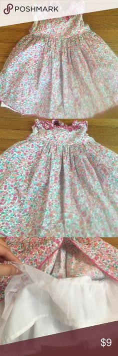 Floral toddler dress- fully lined Great quality cotton dress, with lining underneath.  18 months, savannah brand, EUC savannah  Dresses Formal