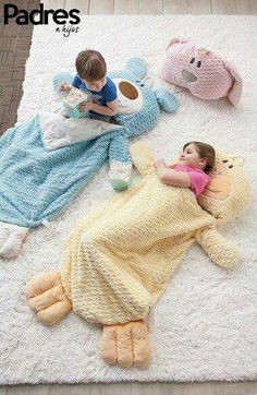 Kids Sleeping Bag for Girls Baby Blanket Pillow Pink Bunny Snugglie Animal Kids Quilt Baby, Sewing For Kids, Baby Sewing, Sewing Diy, Baby Set, Toddler Sleeping Bag, Diy Bebe, Baby Kind, Sleepover