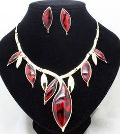 2013new arrival brand hign quality wedding jewelry sets costume fashion green necklace and earrings sets for women free shipping US $12.20