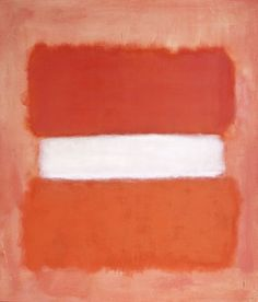 Mark Rothko, White Center, 1957. Los Angeles County Museum of Art, California.