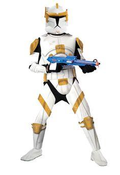Star Wars Clone Wars Deluxe Clone Trooper Commander Cody Adult Costume #Halloween #costumes #starwars