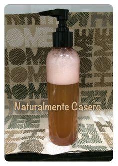 Gel de baño con ingredientes naturales.