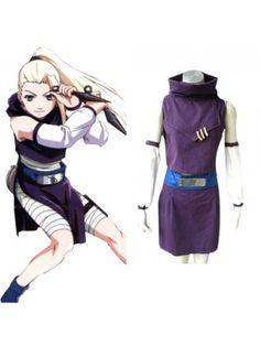 Naruto Yamanaka Ino First Generation Purple Dress Cosplay Outfits Costumes Naruto Cosplay Costumes, Cosplay Costumes For Sale, Anime Costumes, Cosplay Outfits, Halloween Costumes, Anime Cosplay, Geek Games, Neon Genesis Evangelion, Nerd Geek