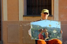 #reflection, #love, #travel, #italy, #people