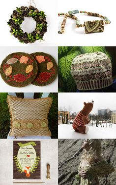 The Woodlands by Lisa Gossman-Steeves on Etsy