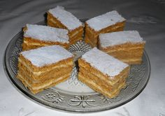 Hungarian Desserts, Hungarian Recipes, Ital Food, Nutella Brownies, Cake Cookies, Cornbread, Cheesecake, Deserts, Food And Drink