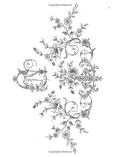 Treasury of Floral Designs and Initials for Artists and