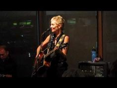 Eliza Gilkyson performs her song 'Hard Times in Babylon' at Conroe House...