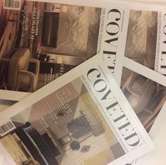 Today we are going to present the COVETED MAGAZINE.we present the photos of this event #CovetedMagazine #CelebrateDesign #magazineluxury #LuxuryDesign #curateDesign #DesignIdeas