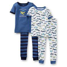 3c1944f4473c Carter's Infant & Toddler Boy's 2-Pairs Pajamas - Airplane Boys Pajamas,  Pajama