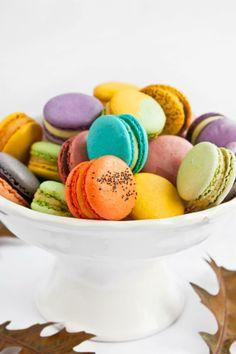 recetas postres macarons