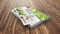 Diseño de tarjetas de visita Quiromasajista | Dolphin Tecnologías