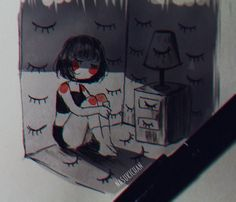 My Drawings, Illustrations, Cool Art, Drawing Art, Cool Stuff, My Love, Multimedia, Memes, Anime