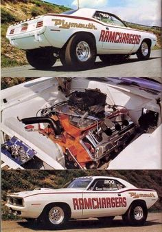 40 Super Ideas old cars muscle drag racing 70s Muscle Cars, Plymouth Muscle Cars, American Muscle Cars, Old Race Cars, Us Cars, Pony Car, Drag Cars, Vintage Racing, Vintage Cars
