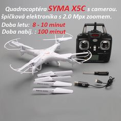 Kompletní sada modelu SYMA X5C.