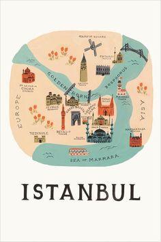 Rifle paper&co - Design Anna-Bond - Istanbul