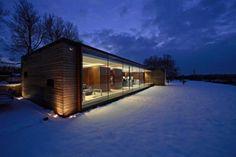 Modern House Design : The Long Barn Studio by Nicolas Tye Architects - Dear Art Innovative Architecture, Architecture Magazines, Beautiful Architecture, Residential Architecture, Contemporary Architecture, Interior Architecture, Container Architecture, Minimal Architecture, Interior Design