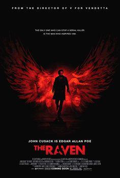 The Raven 2012 Poster All Movies, Popular Movies, Oliver Jackson Cohen, Brendan Gleeson, Movie Talk, Movie Guide, 2012 Movie, Loveless, Luke Evans