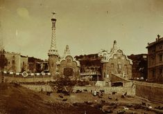 Parc Güell, 1900-1910, © Autor desconegut. Arxiu Fotogràfic de Barcelona