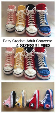 Easy Crochet Slippers, Crochet Boots, Crochet Baby Shoes, Knit Or Crochet, Crochet Shoes Pattern, Baby Shoes Pattern, Shoe Pattern, Crochet Patterns, Knitting Patterns
