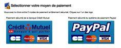 Le mode de paiement Paypal est de retour. Nous avons ajouté les notifications de commande par sms.