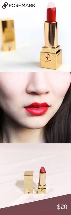 YSL Rouge Pur Couture #01 Le Rouge lipstick  Insanely gorgeous, 100% authentic YSL Rouge Pur Couture lipstick in #01 le rouge. Gorgeous red color. Lovely YSL lipstick scent. Sanitized. Yves Saint Laurent Makeup Lipstick