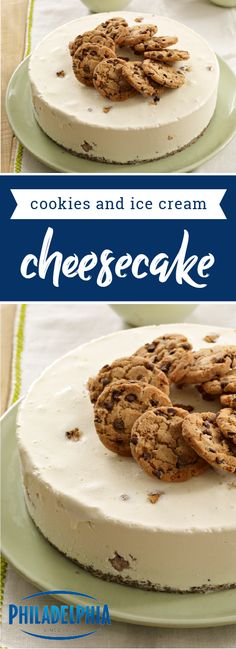 Cookies & Ice Cream Cheesecake – This easy-to-make, no-bake dessert featuring PHILADELPHIA Cream Cheese is sure to wow family and friends! If you're searching for the star of your summer menu, this sweet treat is sure to be what you're looking for.